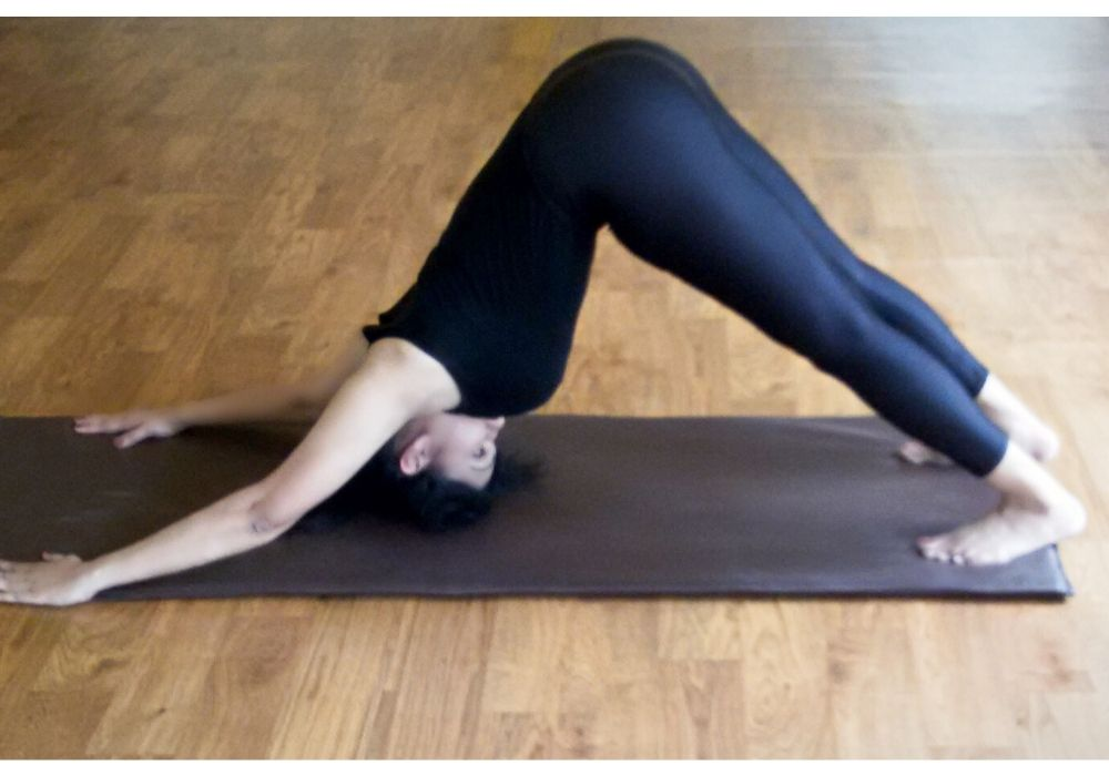 yoga asanas for hair adhomukh svanasana