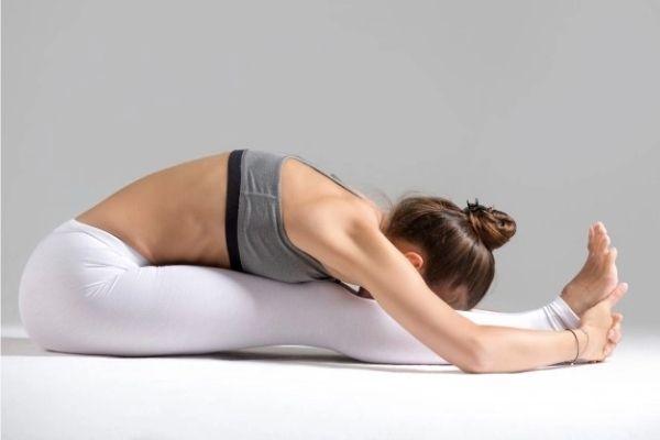 yoga asanas at shwet yoga classes in thane west - pashchimottanasana