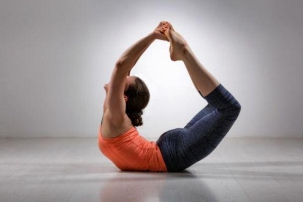 Ardha dhanurasana at shwet yoga classes and courses in thane west
