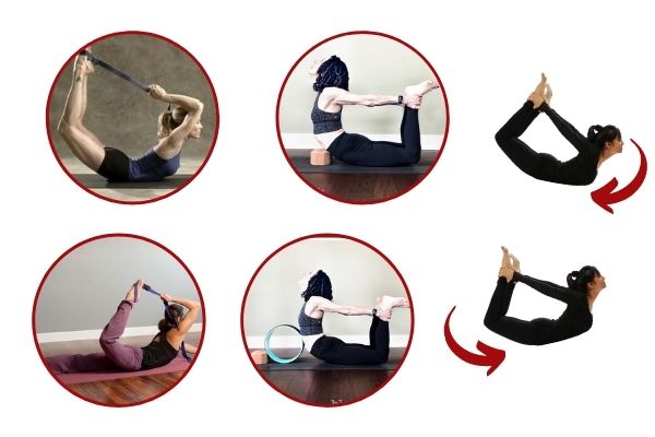 dhanurasana variations at shwet yoga classes and courses in thane west