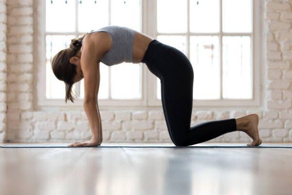Yoga asana at shwet yoga classes in thane west